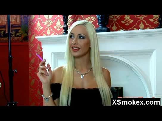 Auspicious Smoking Fetish Milf Penetrated Hard